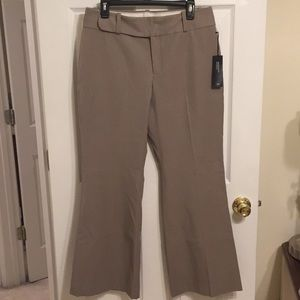 NWT Banana Republic taupe Jackson Fit trousers 10S